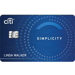 Citi Simplicity credit card